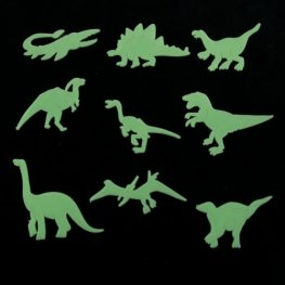 Glow In The Datk Dinosaur x18