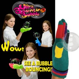 Bouncing Bubble Gloves