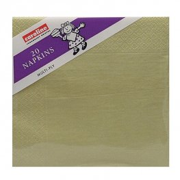 Gold Napkins 6 Packs Of 20
