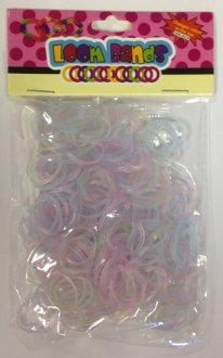 Colour Change Loom Bands x 300