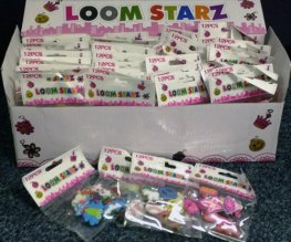 Loom Band Charms x60