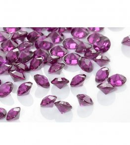 Burgundy Tiny Table Diamantes 30g