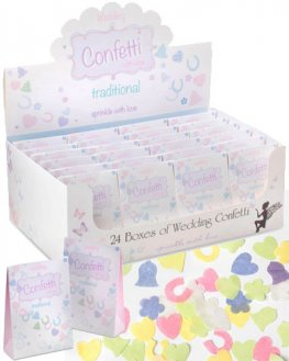 Traditional Wedding Confetti x24