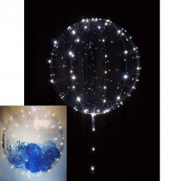5m White LED Light Up Balloon Lights