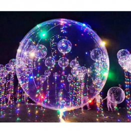 5m Multi Coloured LED Light Up Balloon Lights