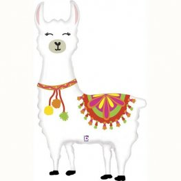 "55"" Llama Supershape Balloon"