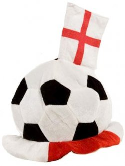 England St George Football Hat With Flags