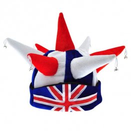 Union Jack Jester Hat