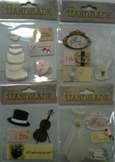 Handmade Wedding Stickers