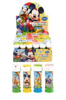 Mickey Mouse Bubble Tubes x36