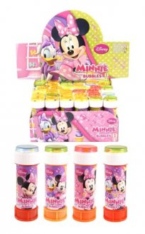 Minnie Mouse Bubble Tubes x36