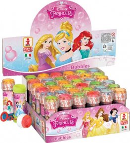 Disney Princess Bubble Tubes x36