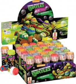 Ninja Turtles Bubble Tubes x36