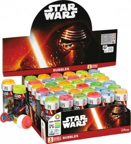Star Wars Bubble Tubes x36