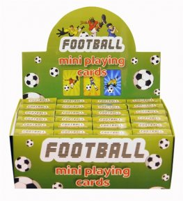 Football Mini Playing Cards 2doz