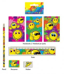 Smiley Face Stationery Set 2 Dozen