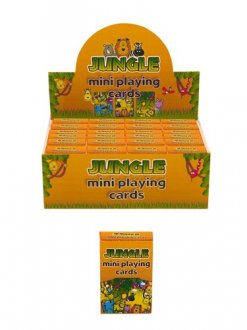 Jungle Mini Playing Cards x2 Dozen