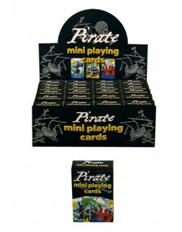 Pirate Mini Playing Cards x2 Dozen