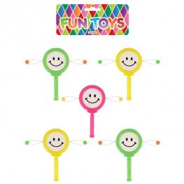 Smile Face Mini Drum 6pk