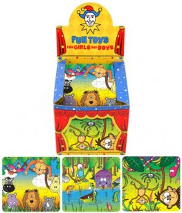 Jungle Puzzle x9 Dozen