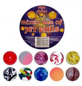 Super Boncy Jet Balls x100