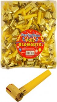 Gold Foil Blowouts 144pk