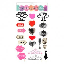Wedding Photo Props 20pk