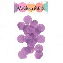 Purple Rose Petals 150pc