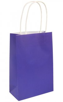 Royal Blue Paper Gift Bags