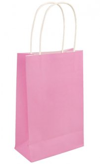 Baby Pink Paper Gift Bags