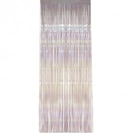 Iridescent Shimmer Curtains
