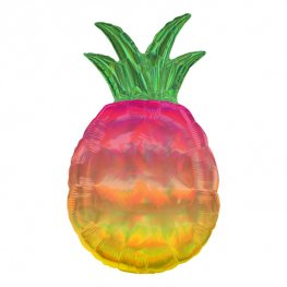 Iridescent Pineapple Supershape Balloons