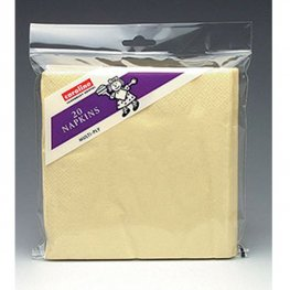 Ivory Napkins 6 Packs Of 20