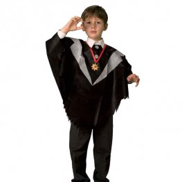 Childs Halloween Poncho