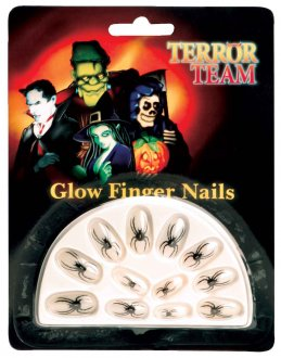 Glow In The Dark Finger Nails
