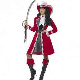 Deluxe Authentic Lady Captain Costumes