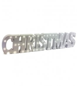 Christmas LED Light Up Sign