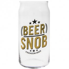 Beer Snob Beer Glass