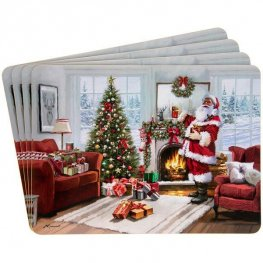 Christmas Santa Placemat Sets