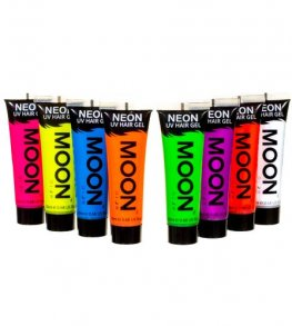 Neon UV Hair Gel x1
