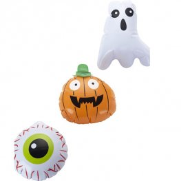 Mini Halloween Inflatable 3pk