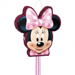 Minnie Mouse Drum Pull Pinata