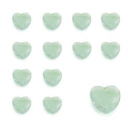 Apple Heart Shaped Diamantes