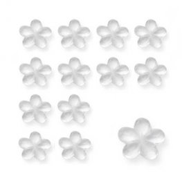 Clear Flower Shaped Diamantes