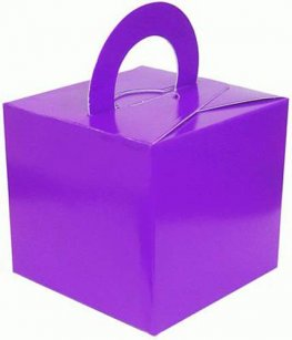 Purple Bouquet Box x10