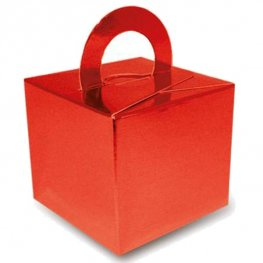 Metallic Red Bouquet Box 10pk