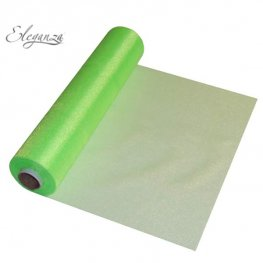 Lime Green Organza Rolls