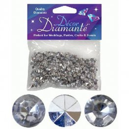 Silver Tiny Table Diamantes 28g