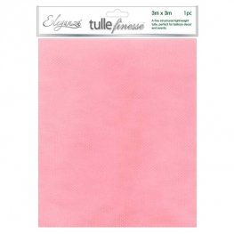 Light Pink Tulle Finesse 3m x 3m 1pc