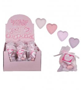 Heart Shaped Bath Fizzers 10pk